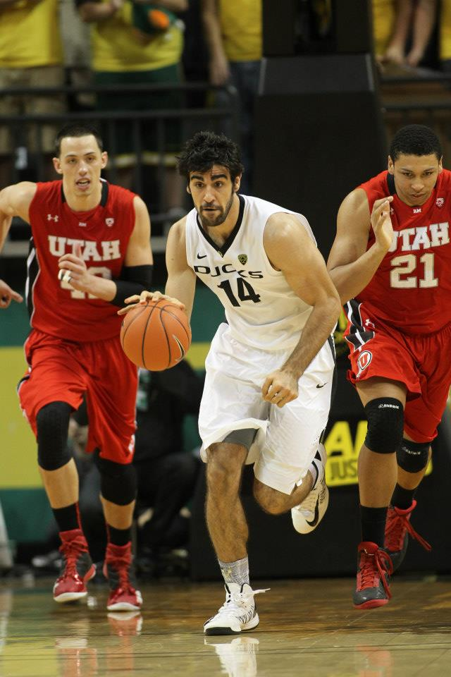 Arsalan Kazemi's hustle helped propel the Ducks to a nine point victory