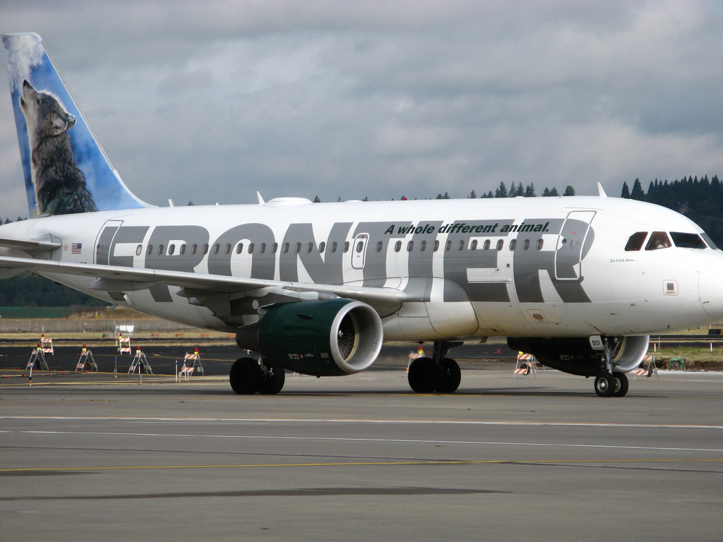 Frontier to start Eugene to Denver service.