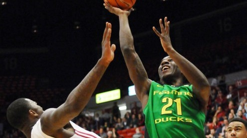 Dotson was sensational in his first year at Oregon. Photo courtesy of USA Today Sports.