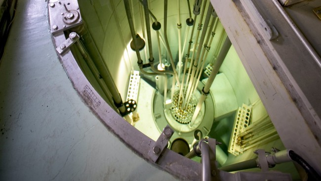 Oregon State tests next generation of nuclear reactor.
