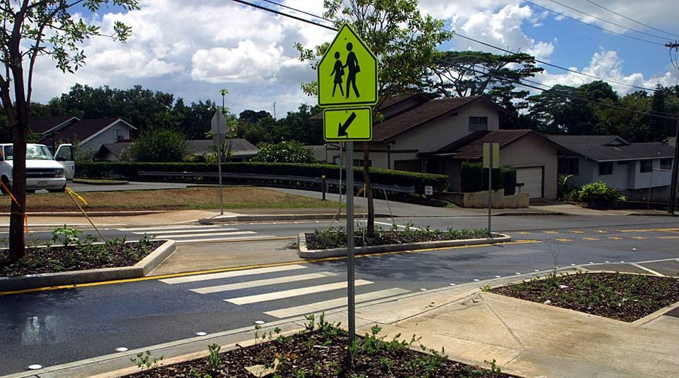 EPD put the clampdown on crosswalks yesterday.  Where are they today?