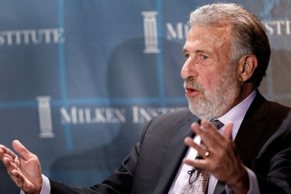 George Zimmer-Patrick Fallon:Bloomberg