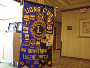 Eugene Downtown Lions Club Banner | Tim Chuey