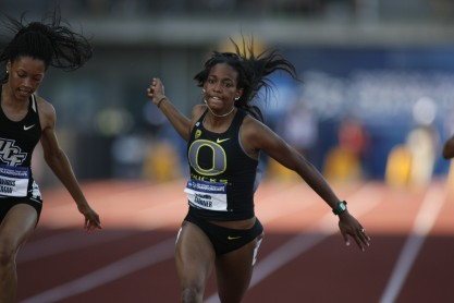 Oregon's English Gardner (Gary Breedlove/Eugene Daily News)