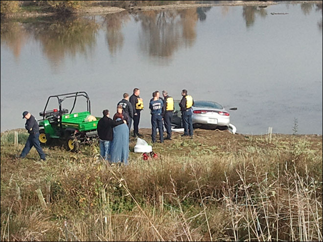A drunk driver ends up in the Delta Ponds | image - KVAL.com