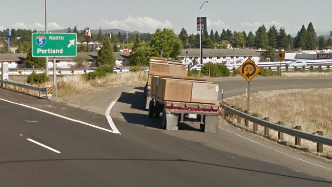Closure this coming Monday.  Eastbound Beltline onramp to I-5 will be closed Monday night.