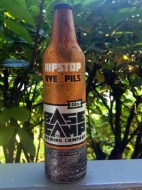 Ryestop Rye Pilsner from Base Camp Brewing, in Portland.