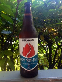 Hop Valley's Czech Your Head is a perfect summer day beer.