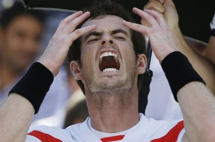 Andy Murray - Associated Press:David Goldman