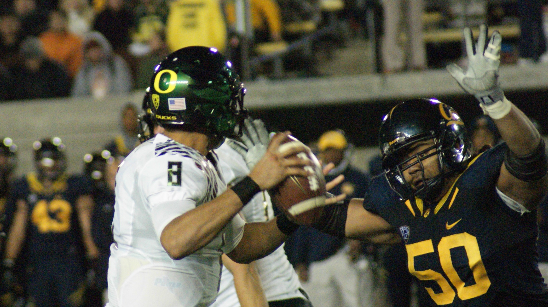 Oregon Ducks, Cal Bears, Marcus Mariota