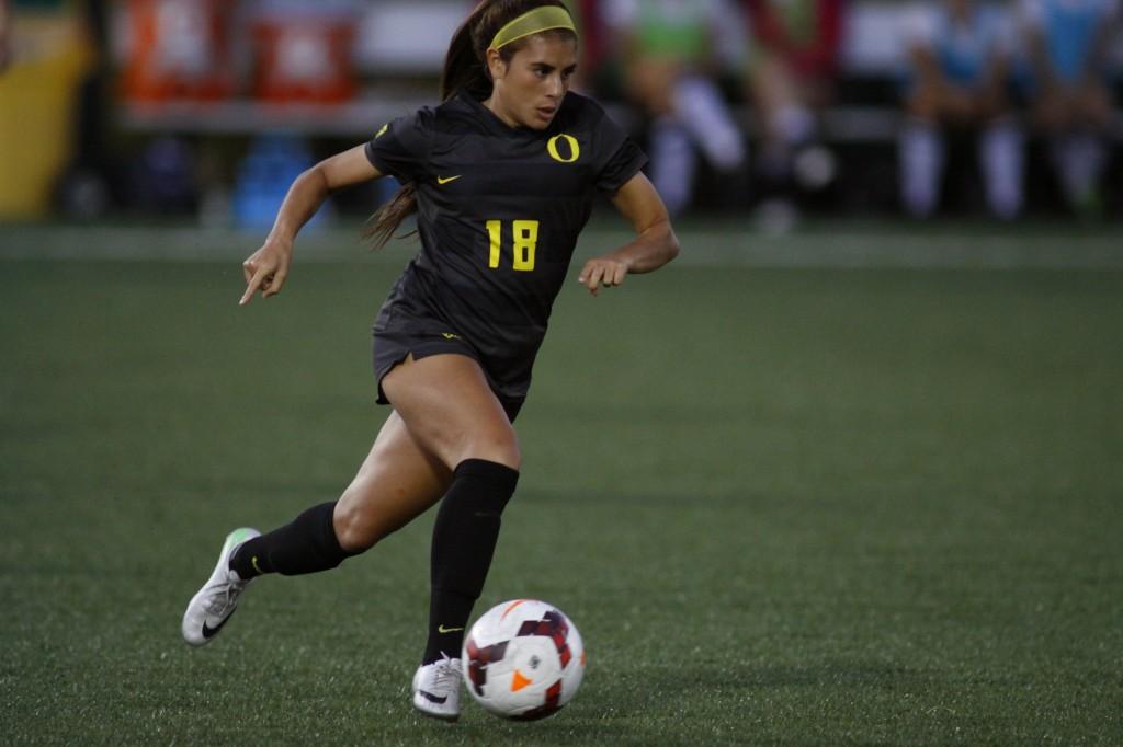 Oregon Ducks Soccer | (Gary Breedlove/Eugene Daily News)