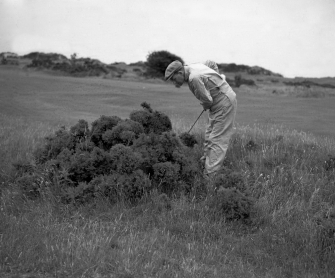 Old St. Andrews Golf Course, Scotland Lost Ball | valentineartreproductions.com
