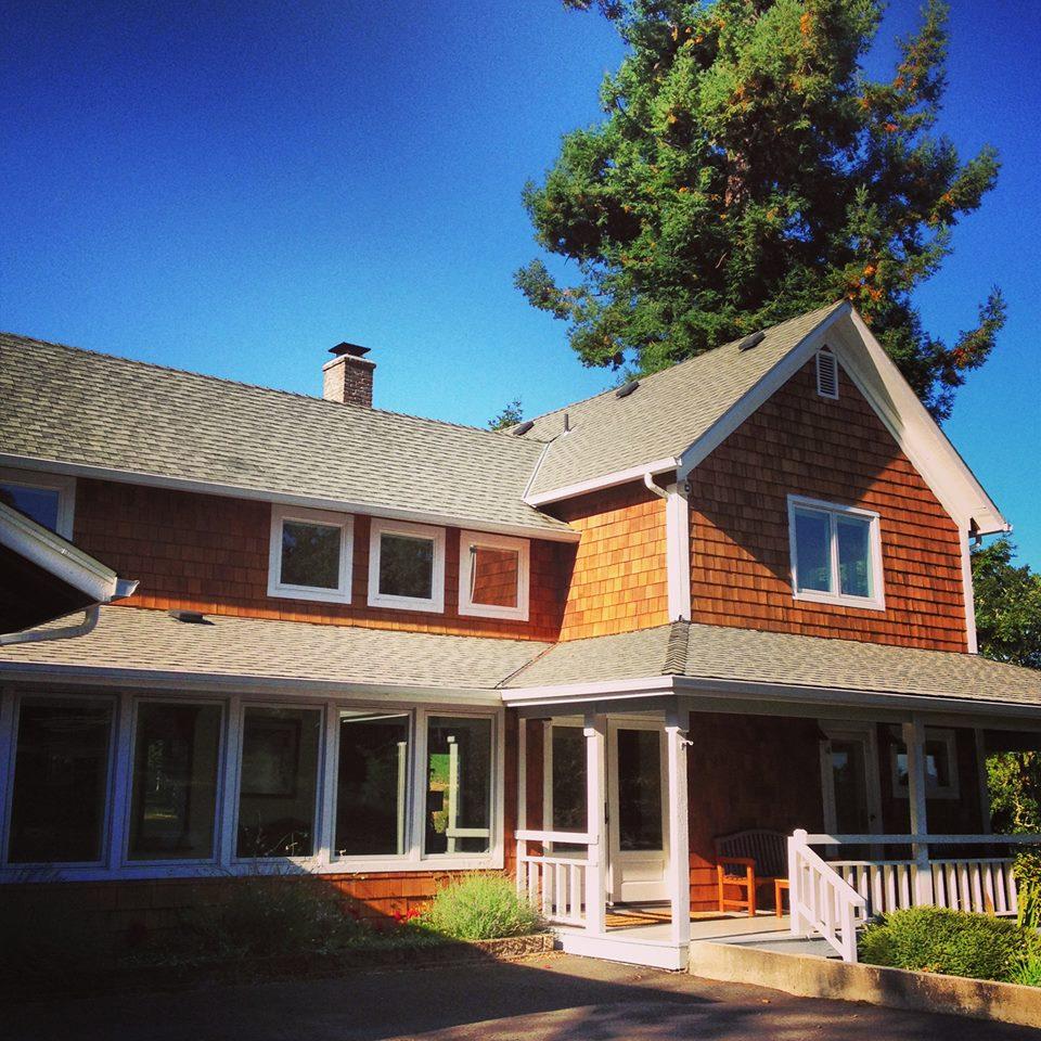 KE ranch house side