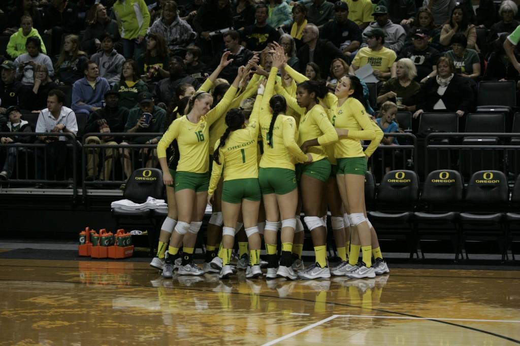 Oregon Ducks Volleyball