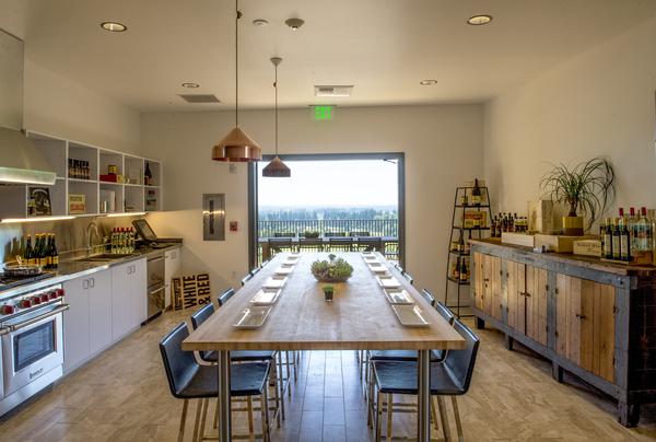 Sokol Blosser tasting room, Dundee Hills, Willamette Valley, Oregon