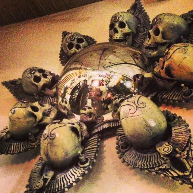Soubise skull art