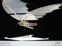 Leonardo Da Vici's Flying Machine   Image theguardian.com