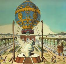 Montgolfier Brothers Hot Air Balloon | Image commons.wikimedia.org