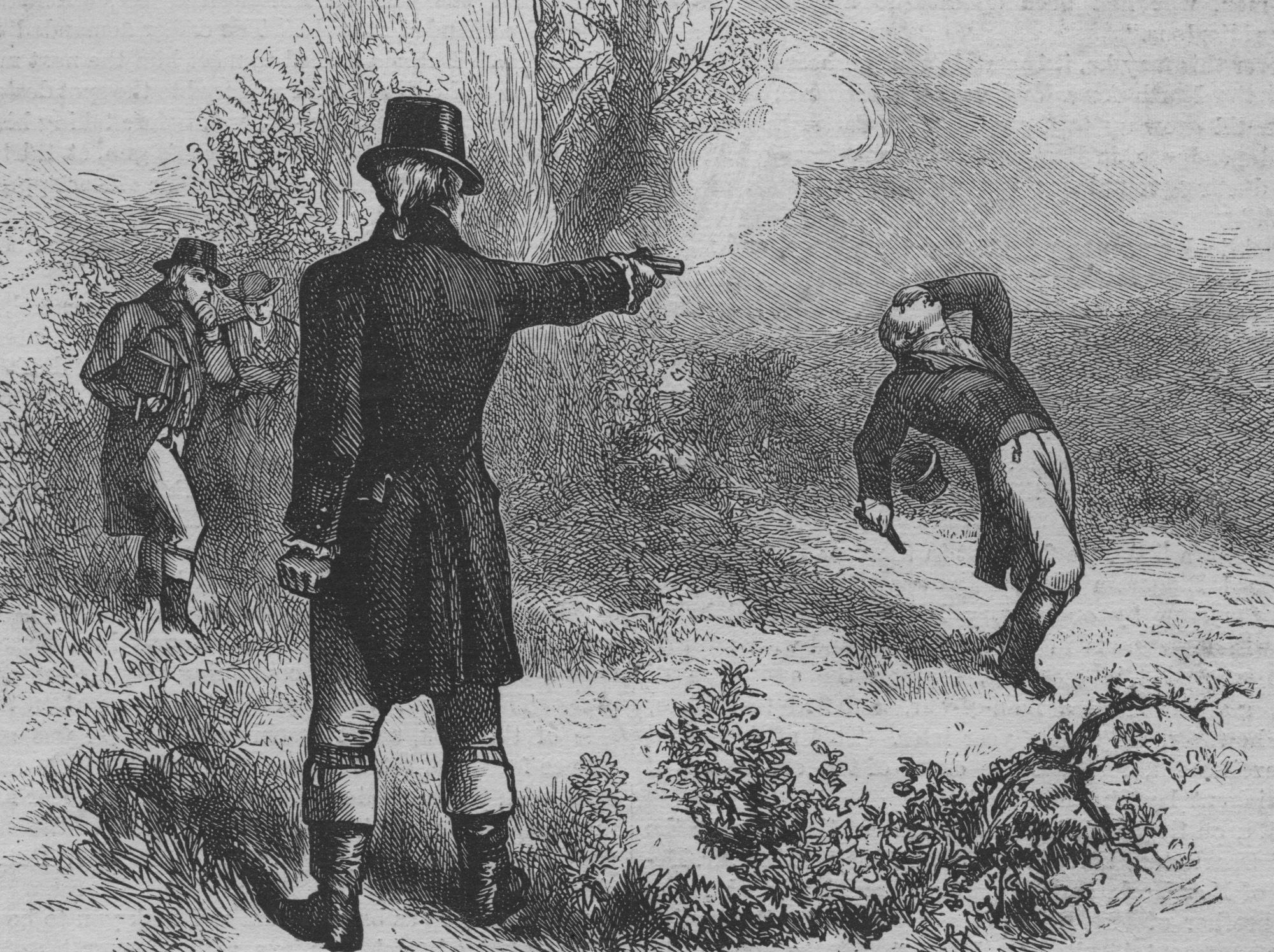 Burr-Hamilton-Duel Image by history1800s.about.com