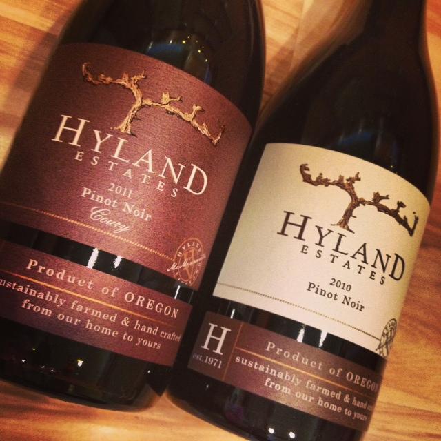 Hyland two bottles