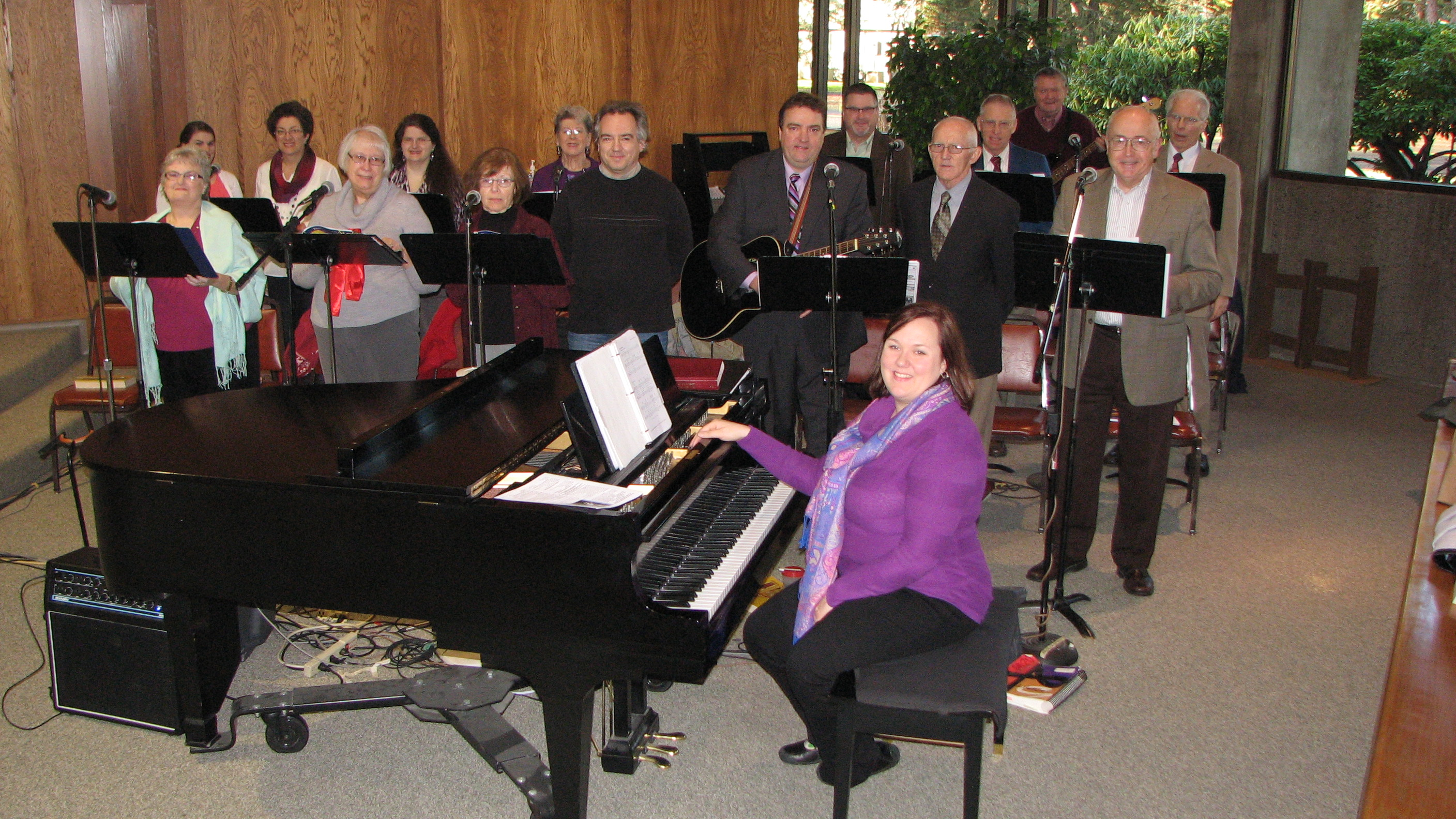 St. Paul Catholic ChurchChoir 2013 |Photo by parishioner Paul