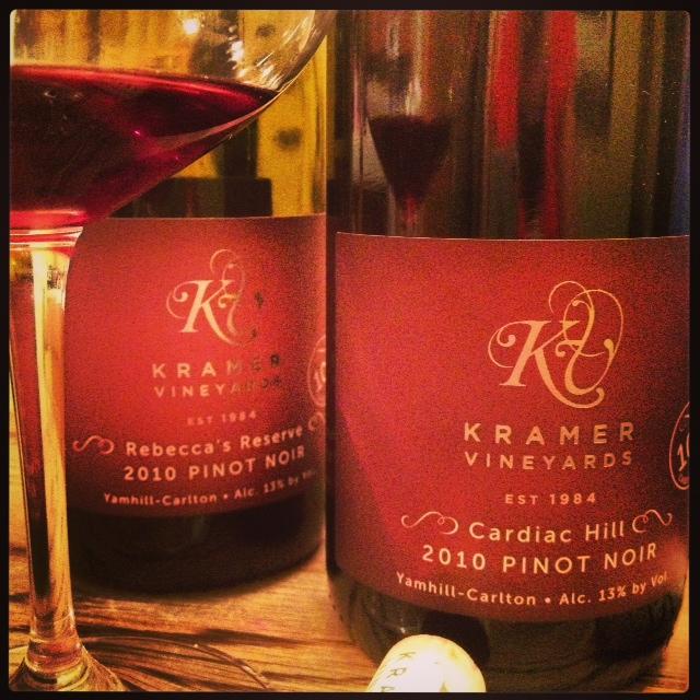 Kramer PN VT 2 bottles