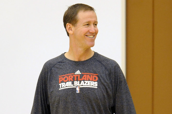 NBA: Portland Trail Blazers-Training Camp