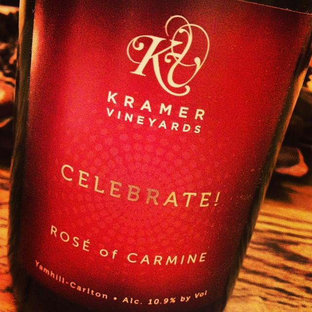 sparkling Kramer Rose of Carmine