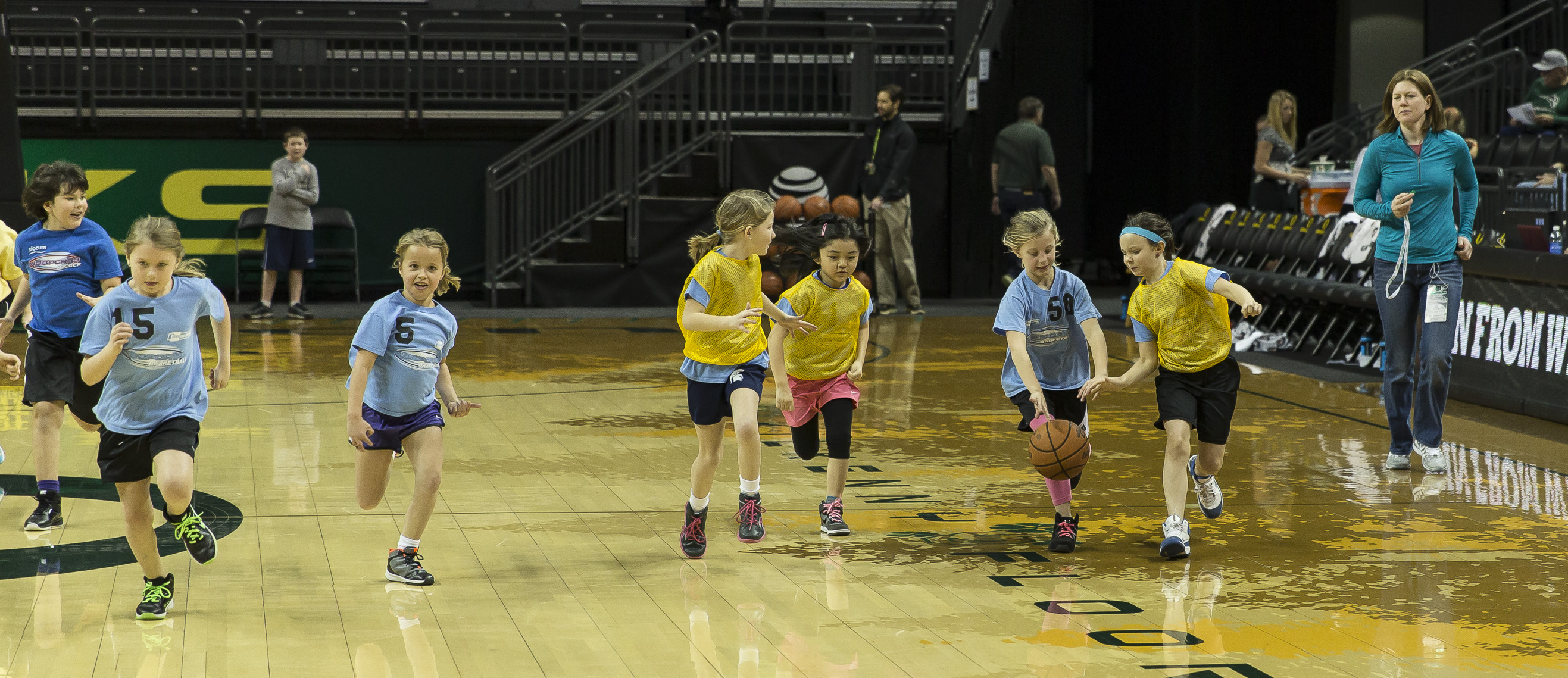 Halftime activities showing us the stars for the future