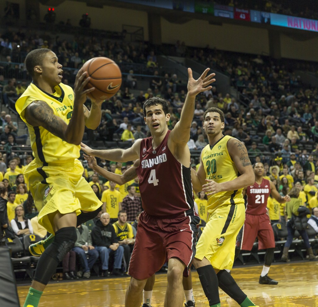 Oregon vs. Stanford 01-12-2014
