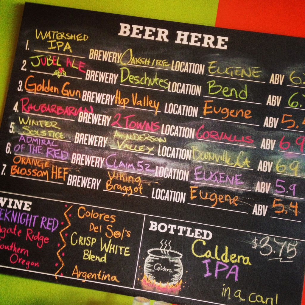 Local brews abound at Laughing Planet