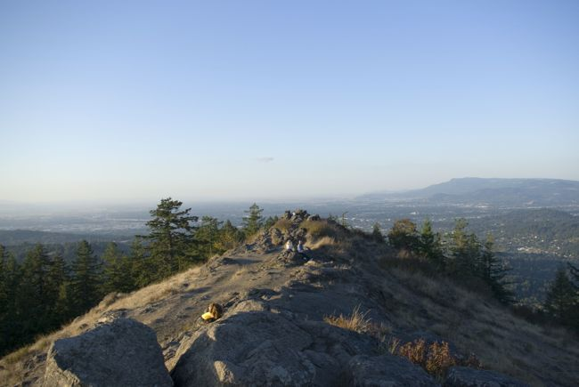 Summit of Spencer Butte