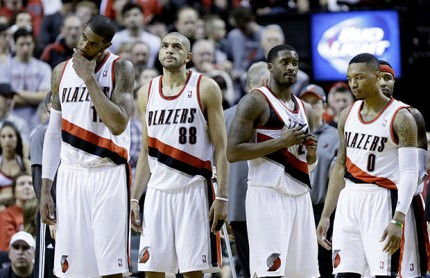 Trail Blazers slump - Associated Press