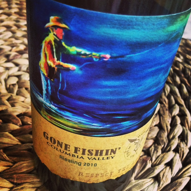 Excellent Riesling with a label that makes a great gift for someone retiring