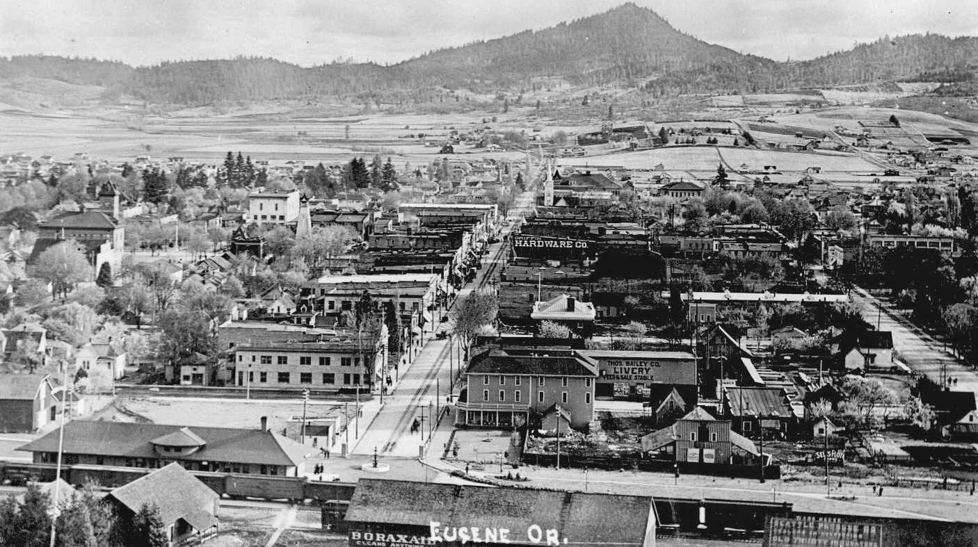 Spencer Butte Eugene, Oregon c 1910 | Photo Lane County Historical Society