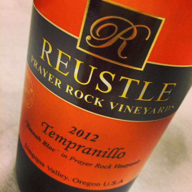 One of many gold medal winners for Umpqua Valley's Reustle Prayer rock vineyards