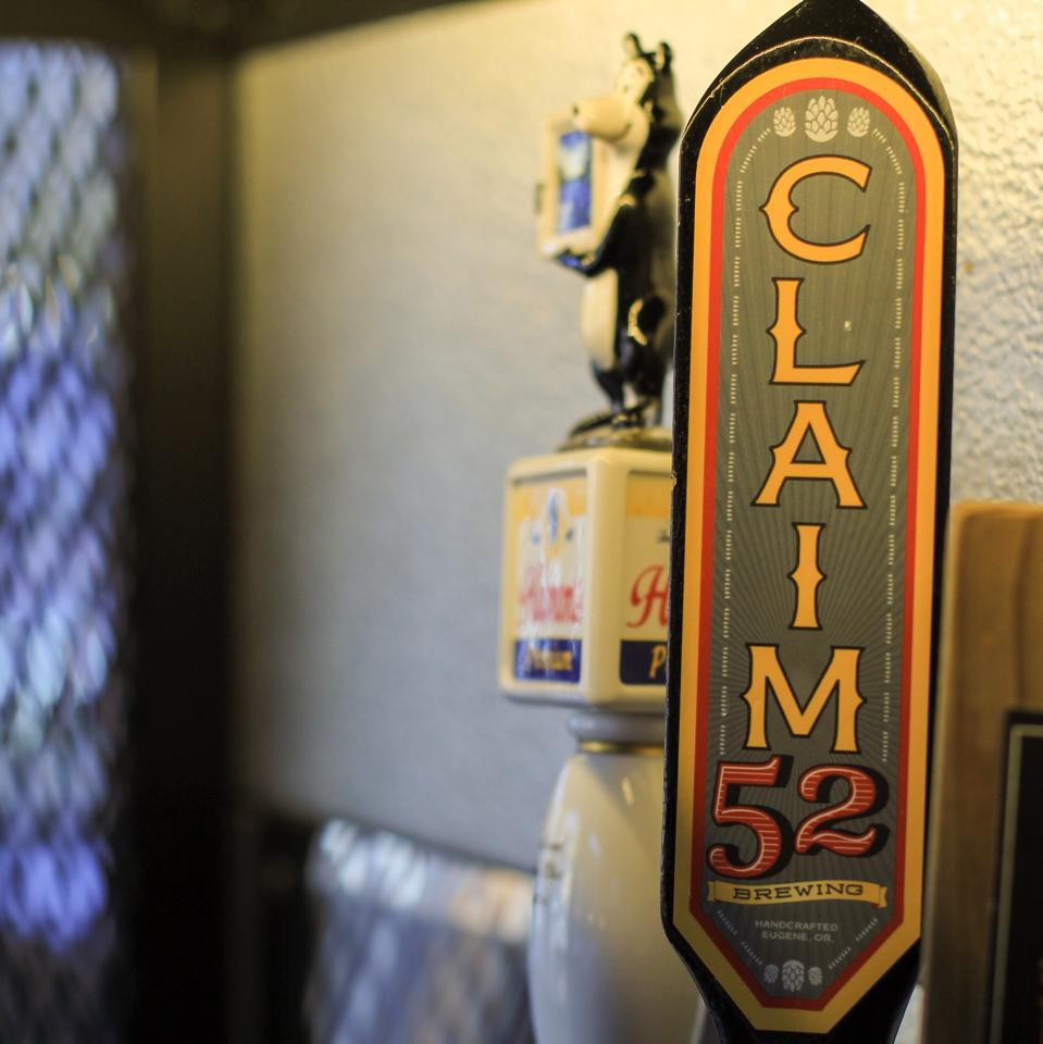 Claim 52 tap handle