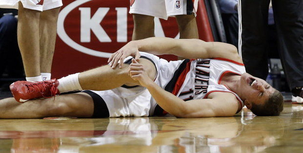 Meyers Leonard - The Associated Press