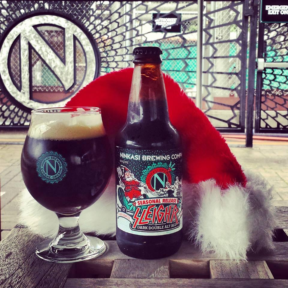 Ninkasi's Sleighr is considered an extreme beer by Adem Tepedelen | photo: Ninkasi facebook page