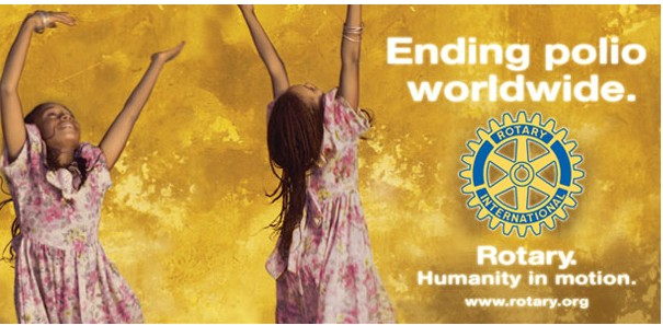 Rotary Works To Eradicate Polio | Image by iimaginestudio.com