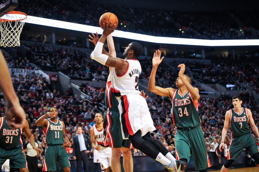 The Portland Trail Blazers defeat the Milwaukee Bucks 120-115