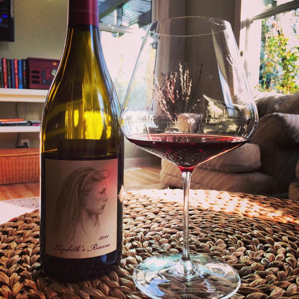 Ahhhh...thoroughly enjoying a fabulous Pinot noir in my very own Zalto Burgundy glass