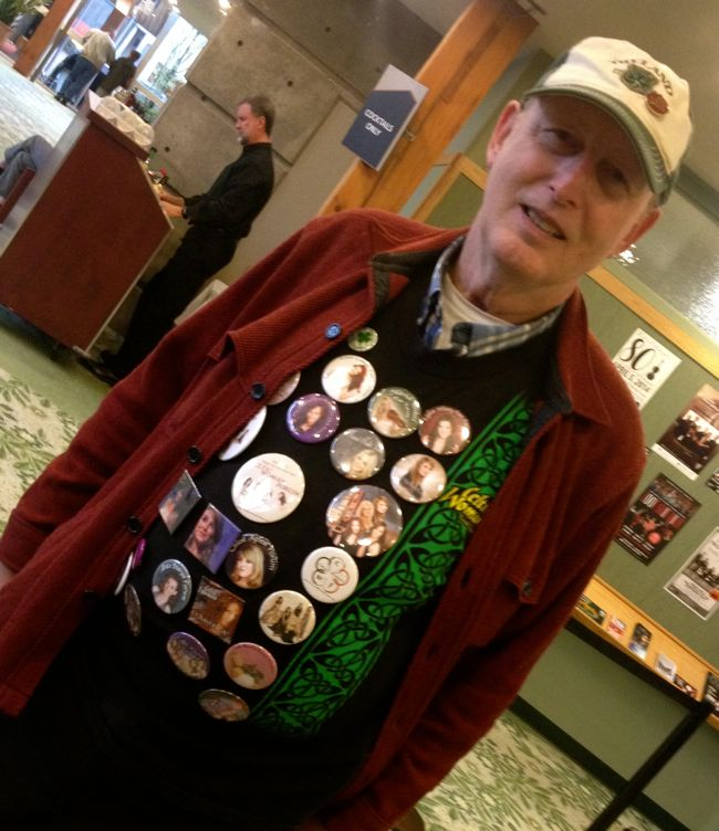 """Jim"" Eugene's biggest fan of Celtic Woman"