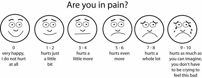 Pain Scale Physicians Use