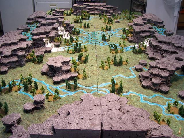 BattleTech (3d map!)