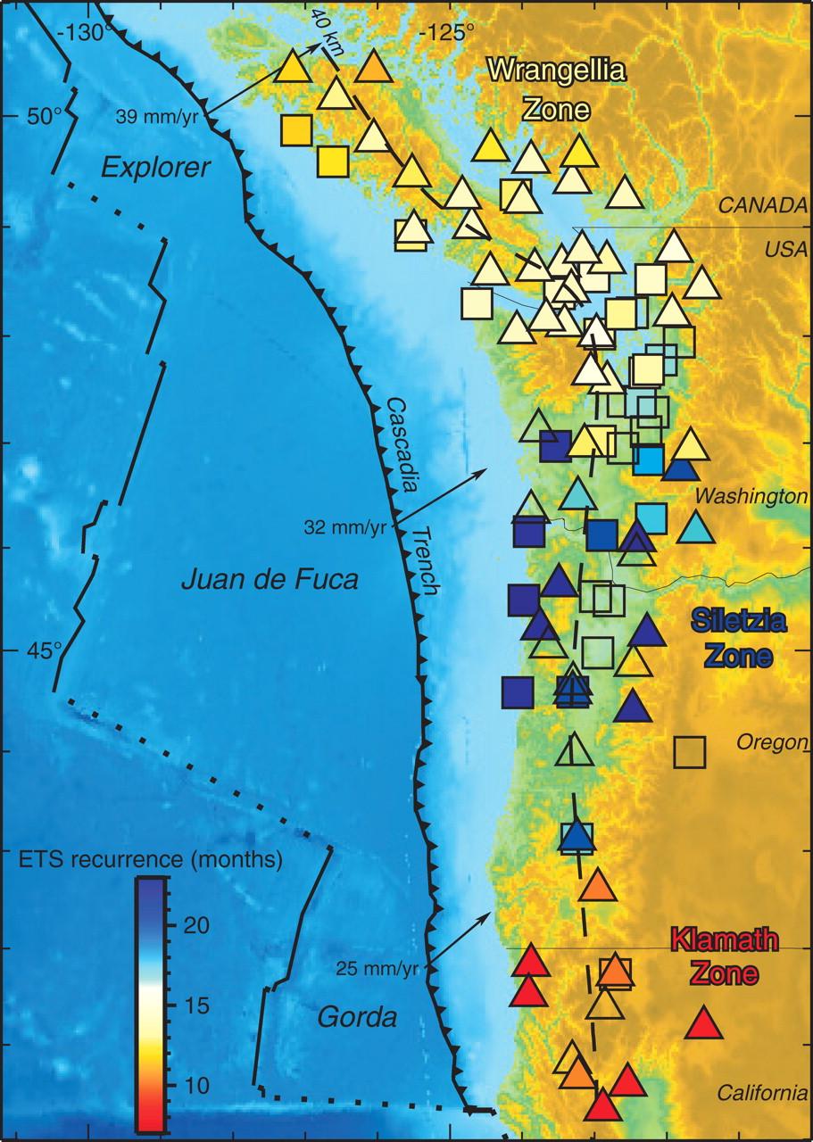 Cascadia Subduction Zone  | Image by geology.gsapbus.org