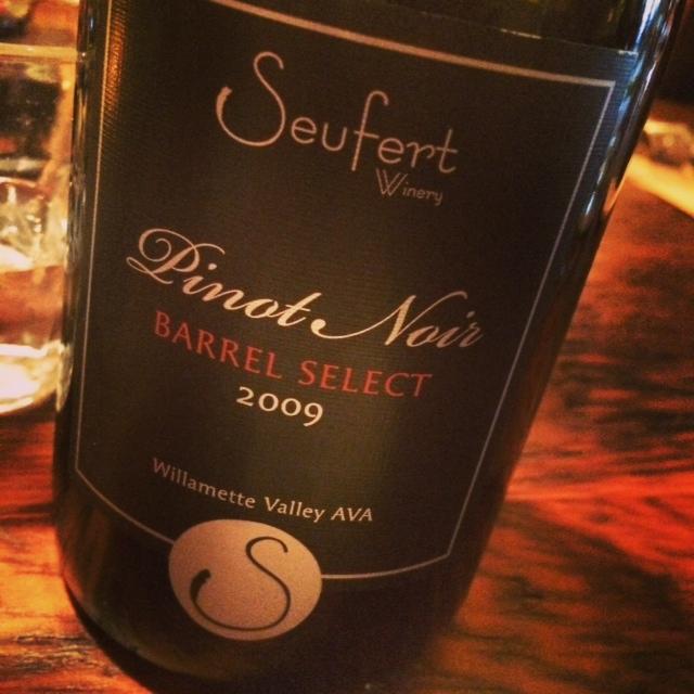 Enjoyed each sip of this beautifully evolving, stellar Pinot Noir.