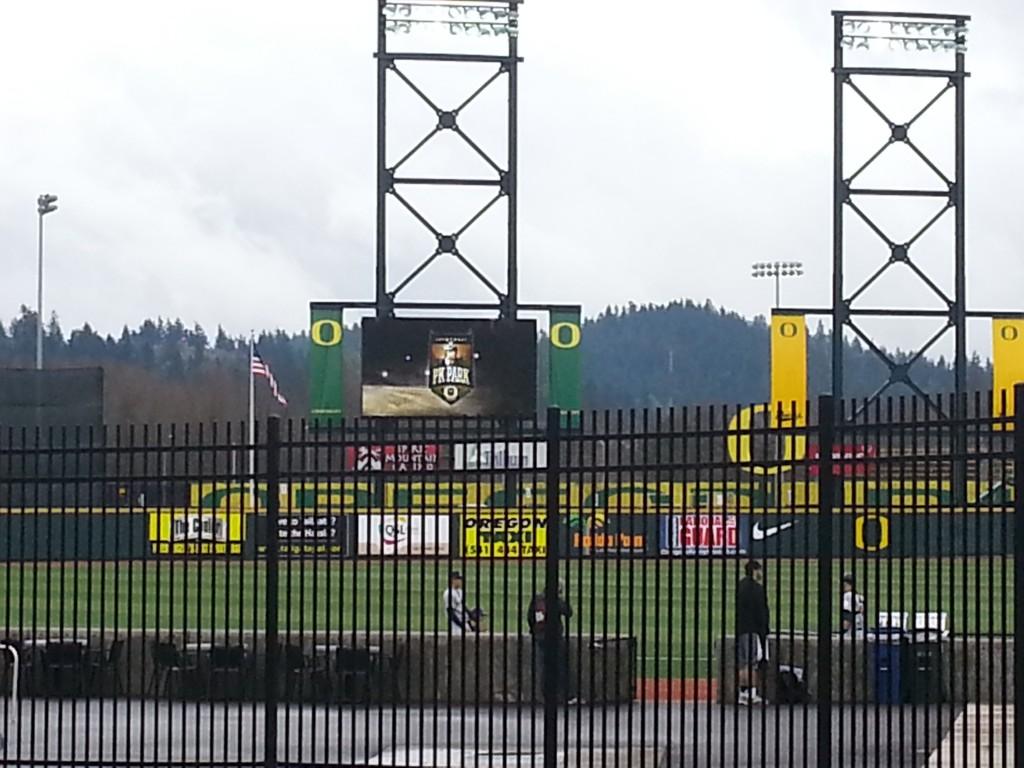 PK Park, Home of the Oregon Ducks Baseball Team//KPNWSprts