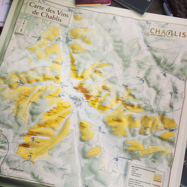 Chablis 3D map