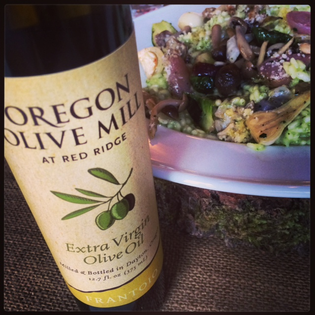 EVOO Conference and salad